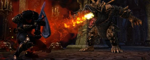 Используя щит, персонаж мог выдерживать огромный урон