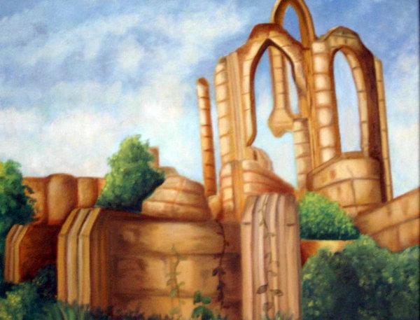 Айлейдские руины расположены преимущественно в Сиродииле