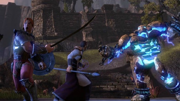 В TES Online мобы сражаются практически так же, как живые игроки
