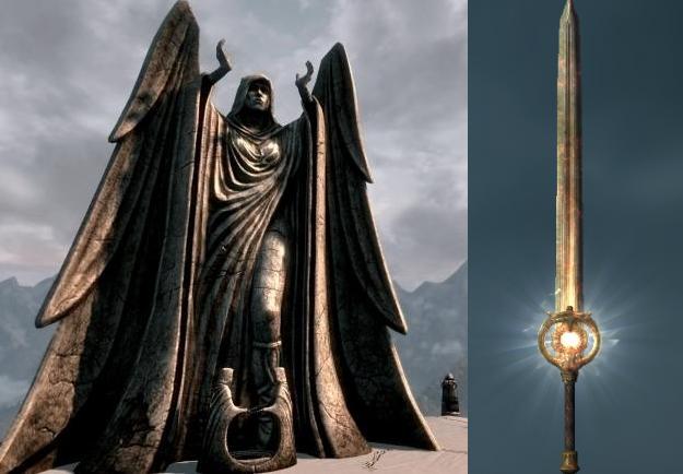 Итак, вы получили меч Сияние Рассвета