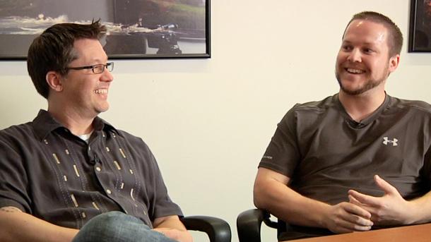 Пол Сейдж (слева) и Рич Ламбрет (справа)