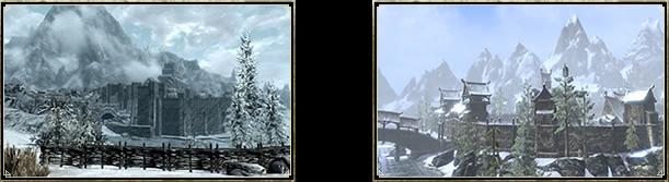 Вы сразу же заметите сходство между «нашим» Виндхельмом и тем, что был в Skyrim