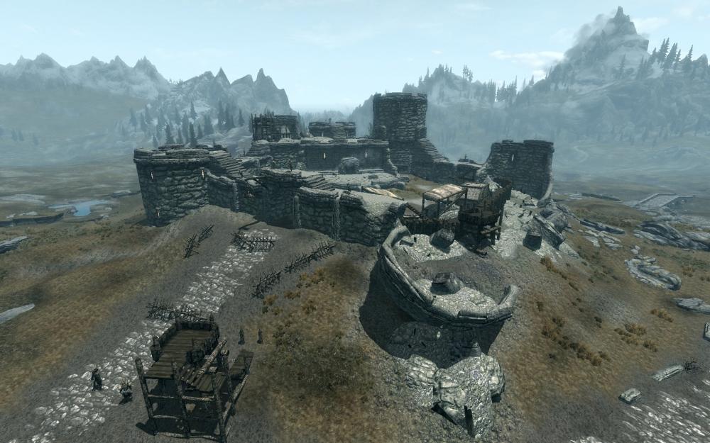 Форт Греймор в Скайриме