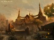 Творческое изображение - Храм Трибунала в Морнхолде