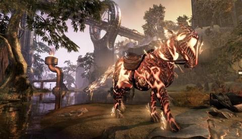 Огненный конь-атронах
