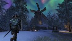 Творческое изображение - Мельница в Бликроке - ночь