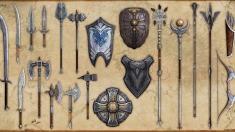 Творческое изображение - Крафтинг оружия и щитов