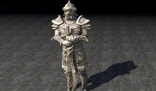 Статуя Ра Гада, Мастер клинков