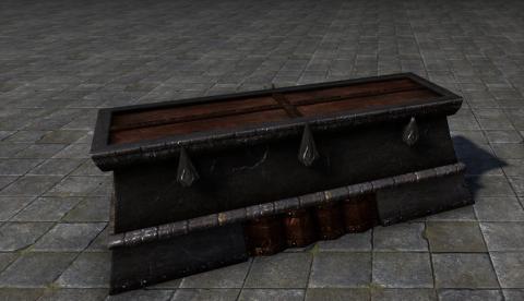 Даэдрический Саркофаг, Запечатанный