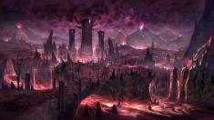 Творческое изображение - (Оф.Арт) Мёртвые земли - даэдрический план Мерунес