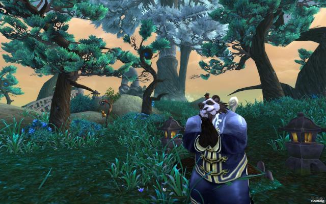 И последнее, о чем я хочу вам напомнить: Mists of Pandaria. Панды!