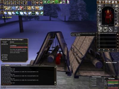 Осадные орудия в игре DAoC