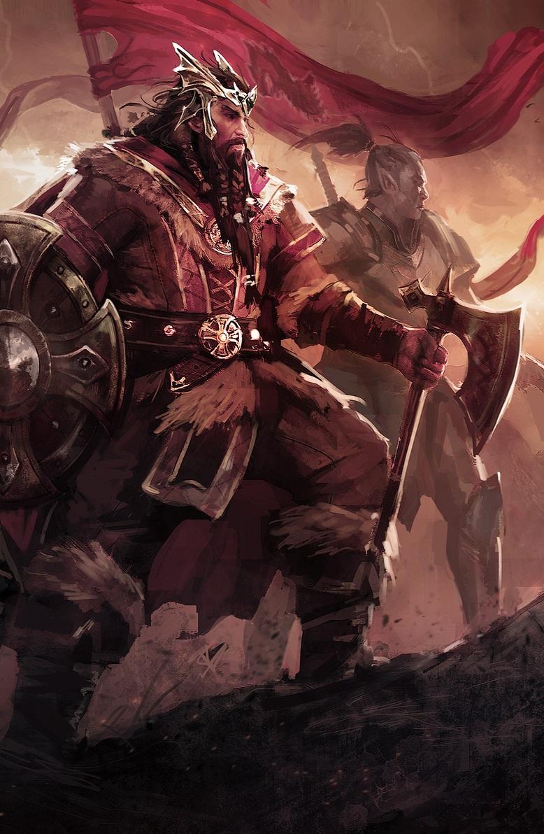 Йорунн, король-скальд