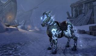 Конь-атронах ночной вьюги