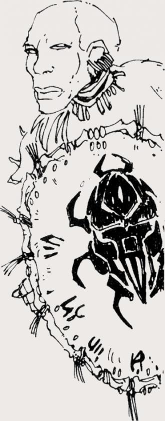 Рыцарь ордена Скарабея из Тотамбу