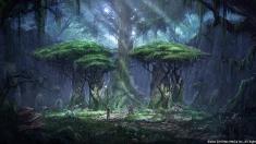 Творческое изображение - Деревня босмеров