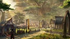 Творческое изображение - Альтмерский город
