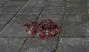 Бинты, Пропитанные кровью