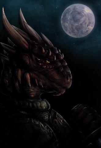 Тёмный Ящер