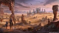 Творческое изображение - Пустыня Алик'р
