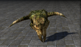 Тотемный череп, Поклонение Гирцину