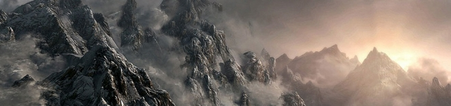 Горы Скайрима