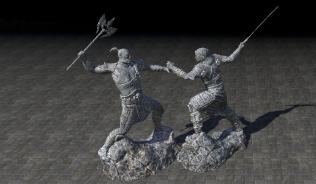 Статуя Орсиниума, Почетный Отдых