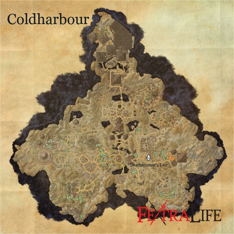 Coldharbour - Deathspinner's Lair