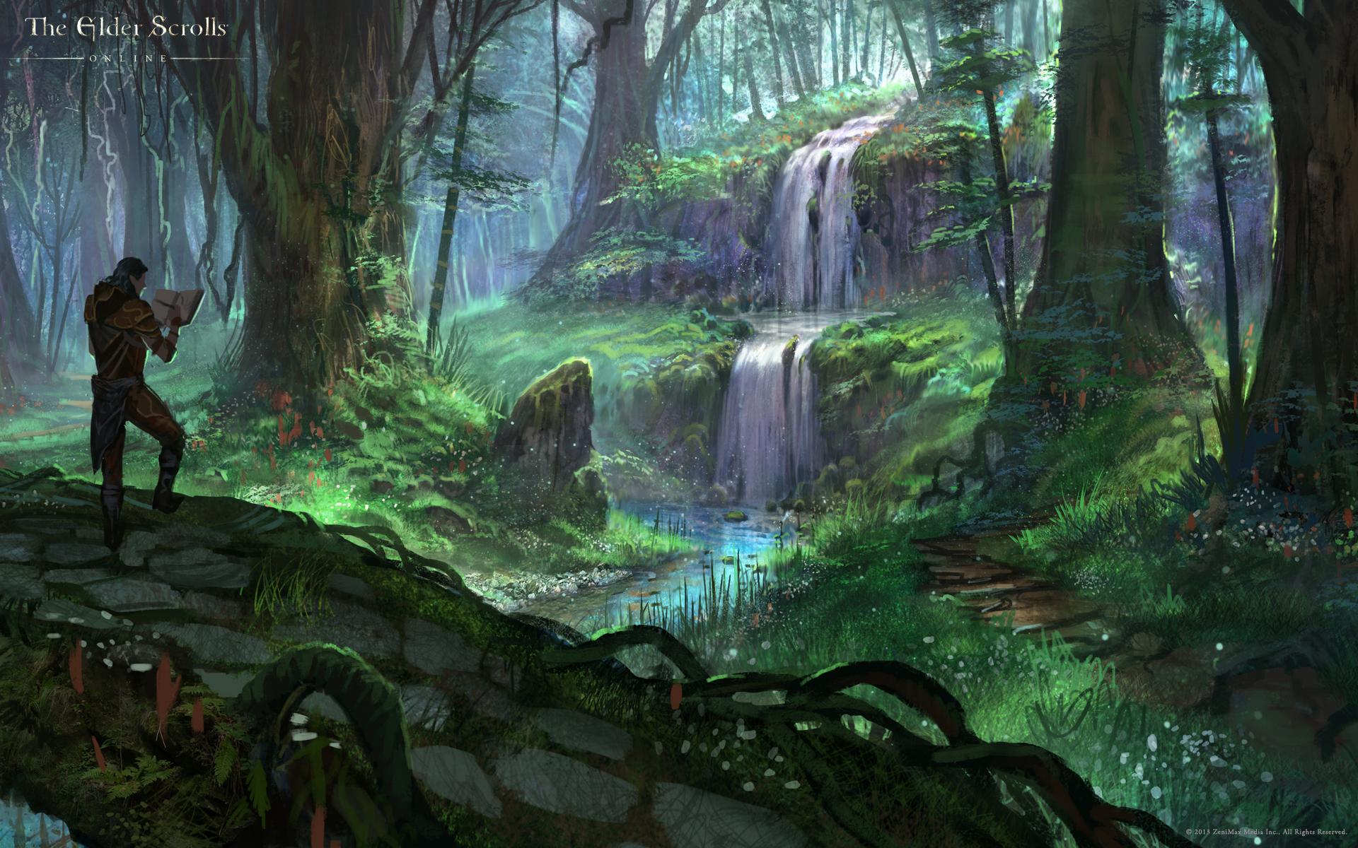 Посещение уединенного водопада в Гратвуде